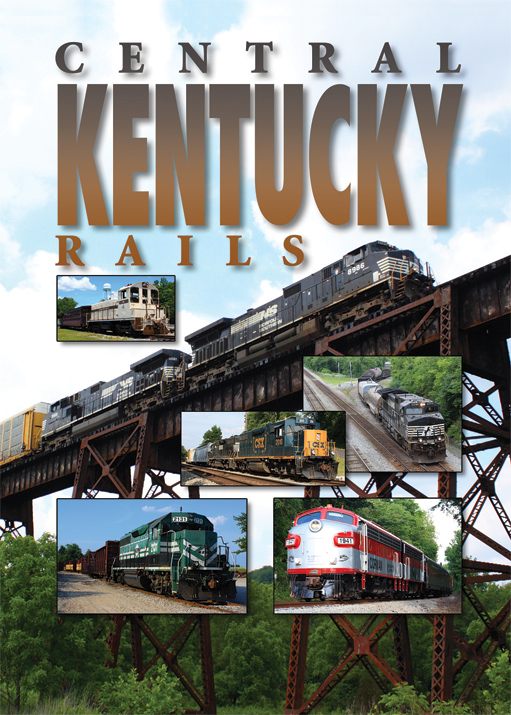 Central Kentucky Rails DVD Pentrex CKEN-DVD 748268006562