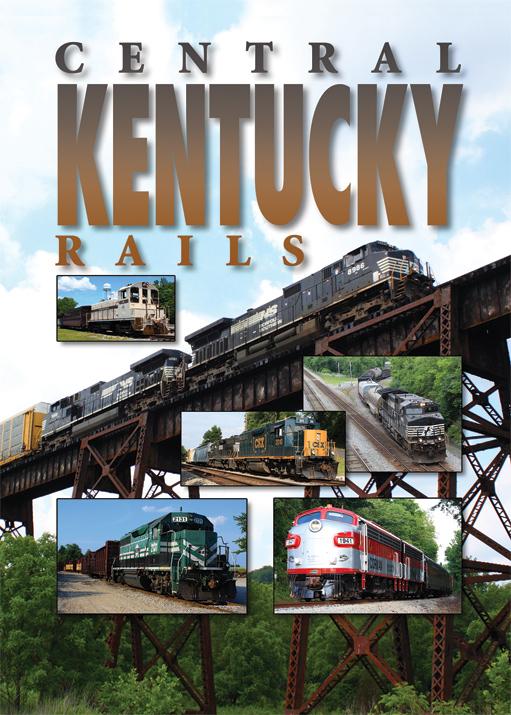 Central Kentucky Rails DVD Train Video Pentrex CKEN-DVD 748268006562