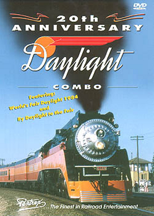 20th Anniversary Daylight Combo DVD Train Video Pentrex DAYCOMBO-DVD 748268004261