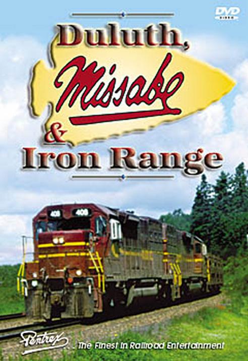 Duluth, Missabe & Iron Range DVD Train Video Pentrex DMIR-DVD 748268004186