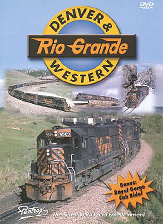 Denver & Rio Grande Western DVD Pentrex DRGW-DVD 748268004346