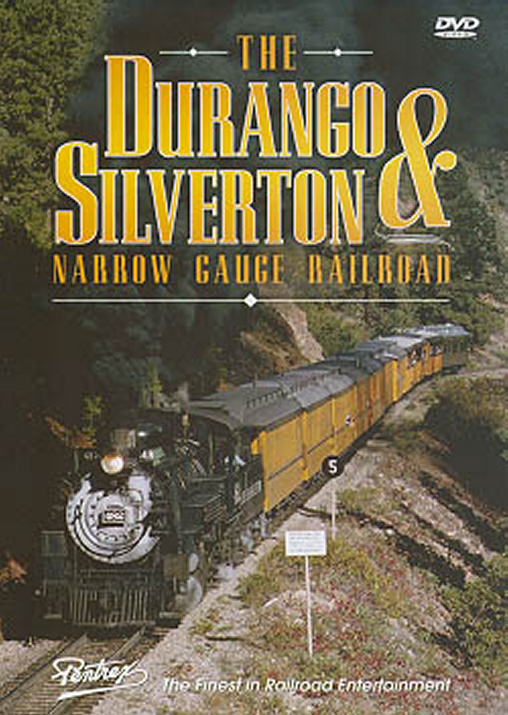 Durango & Silverton Narrow Gauge Railroad DVD Pentrex DSN-DVD 748268004421