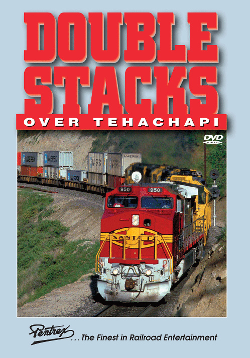 Double Stacks Over Tehachapi DVD Pentrex DSOT-DVD 748268006258