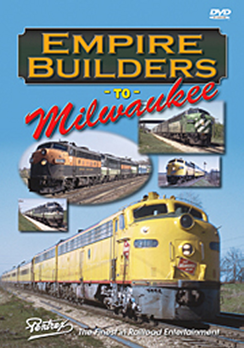 Empire Builders to Milwaukee DVD Train Video Pentrex EMPIRE-DVD 748268004841
