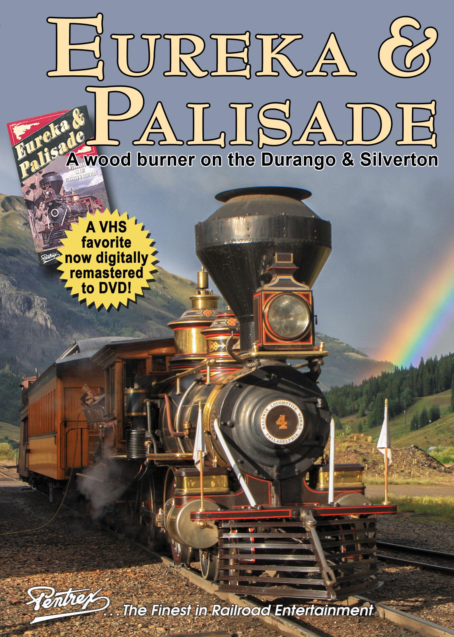Eureka & Palisade Wood Burner on the Cumbres & Toltec DVD Pentrex EPDS-DVD 634972958887