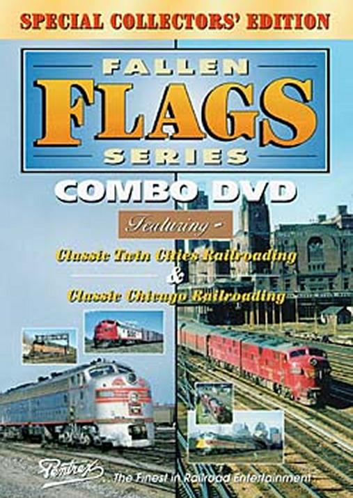 Fallen Flags Series Combo DVD Train Video Pentrex FFS23-DVD 748268003981