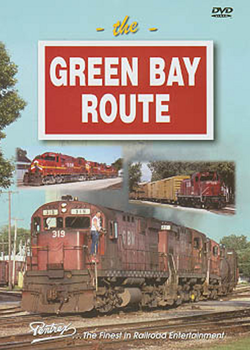 Green Bay Route DVD Train Video Pentrex GBAY-DVD 748268004667