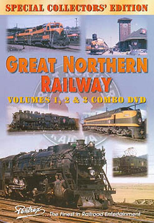 Great Northern Railway Combo DVD Pentrex GNR-DVD 748268004469