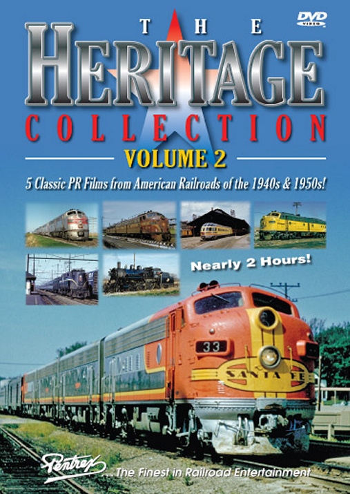 Heritage Collection Volume 2 DVD Train Video Pentrex HC2-DVD 748268004964