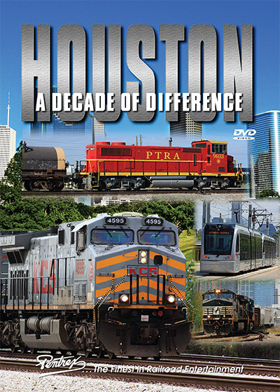 Houston - A Decade of Difference 2 Shows on 2 Discs DVD Train Video Pentrex HDD-DVD 748268006562