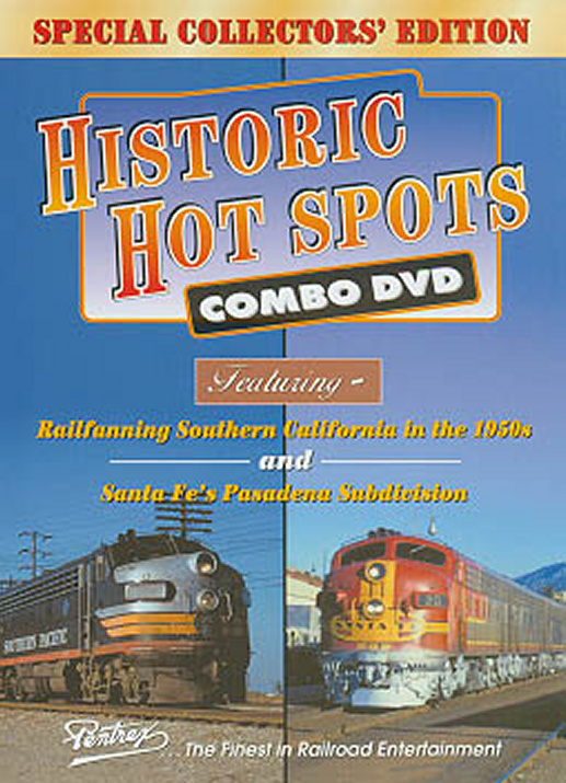 Historic Hot Spots Combo DVD Train Video Pentrex HHS-DVD 748268004162