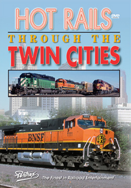 Hot Rails Through the Twin Cities DVD Train Video Pentrex HRTC-DVD 748268005183