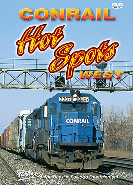 Conrail Hot Spots West DVD Train Video Pentrex HSWEST-DVD 748268004766