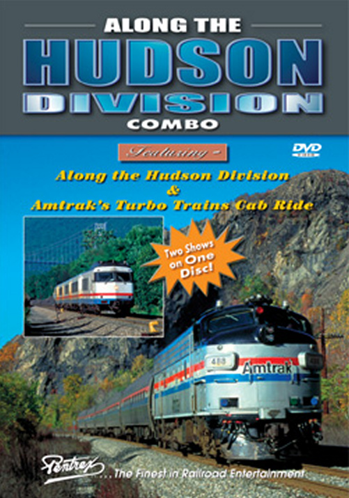 Along the Hudson Division Combo DVD Train Video Pentrex HUD-DVD 748268005565