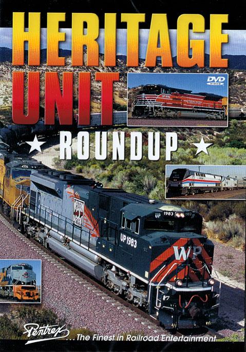 Heritage Unit Roundup DVD Pentrex HUR-DVD 748268006579