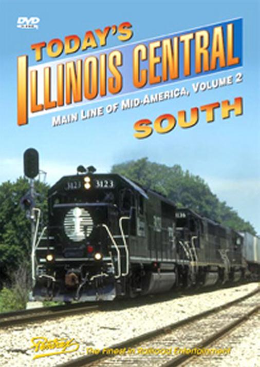 Todays Illinois Central South DVD Pentrex ICS-DVD 748268005053