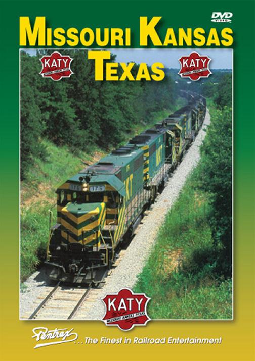 Missouri Kansas Texas KATY DVD Train Video Pentrex KATY-DVD 748268005824