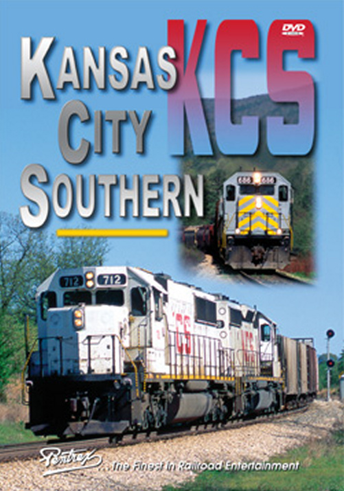 Kansas City Southern on DVD Train Video Pentrex KCS-DVD 748268005169
