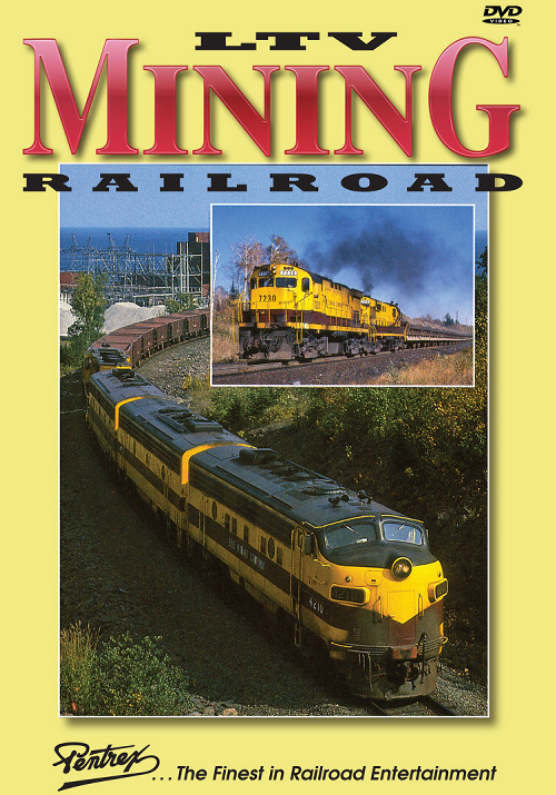 LTV Mining Railroad DVD Train Video Pentrex LTV-DVD 748268005992