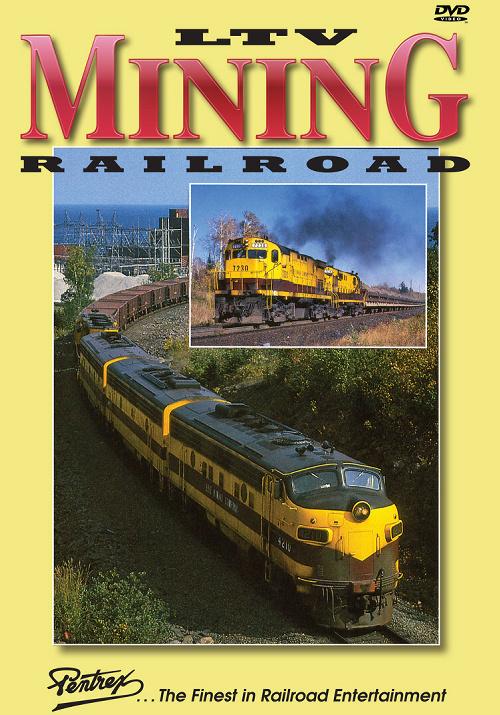 LTV Mining Railroad DVD Pentrex LTV-DVD 748268005992