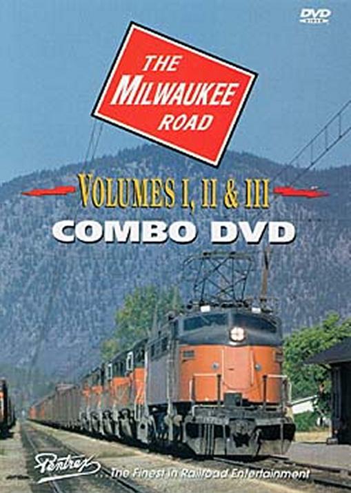 Milwaukee Road Combo DVD Pentrex MILW-DVD 748268003943