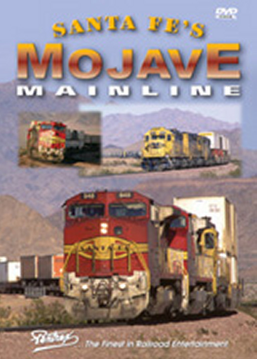 Santa Fes Mojave Mainline DVD Train Video Pentrex MOJAVE-DVD 748268004933