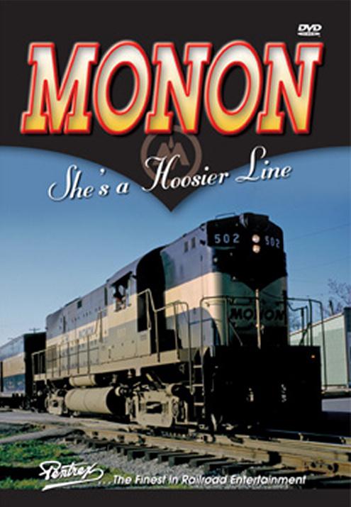 Monon Shes a Hoosier Line DVD Train Video Pentrex MONON-DVD 748268005541