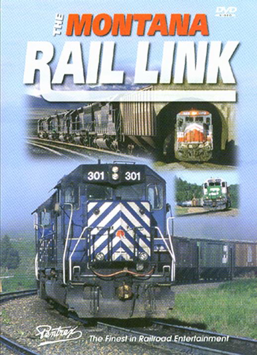 Montana Rail Link DVD Train Video Pentrex MRL-DVD 748268004780