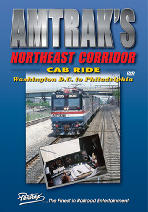 Amtraks Northeast Corridor Cab Ride DVD Train Video Pentrex NECAB-DVD 748268005671