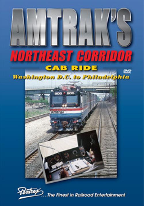 Amtraks Northeast Corridor Cab Ride DVD Pentrex NECAB-DVD 748268005671