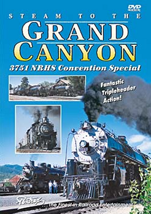 Steam to the Grand Canyon DVD Pentrex NRHS02-DVD 748268004001