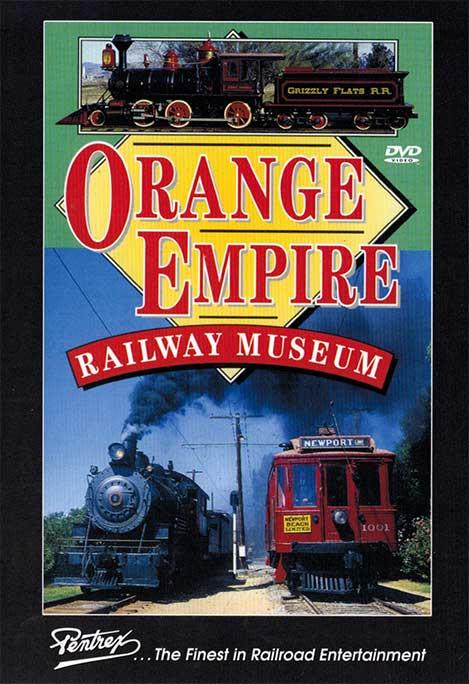 Orange Empire Railway Museum DVD Train Video Pentrex OERM-DVD 748268001024