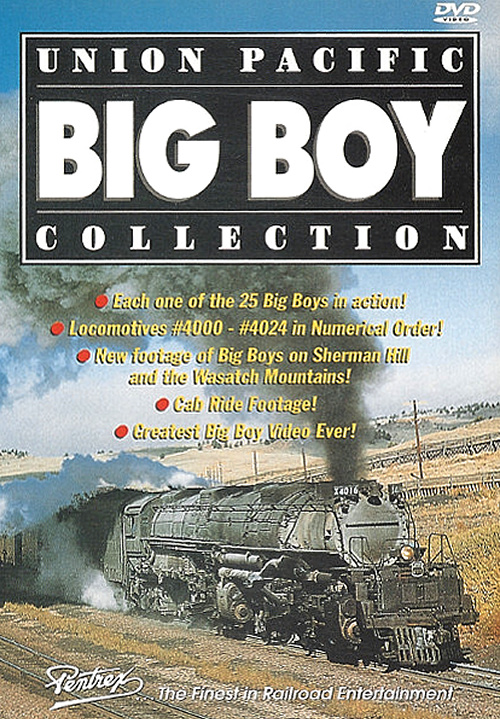 Union Pacific Big Boy Collection DVD Train Video Pentrex PCBB-DVD 748268003882