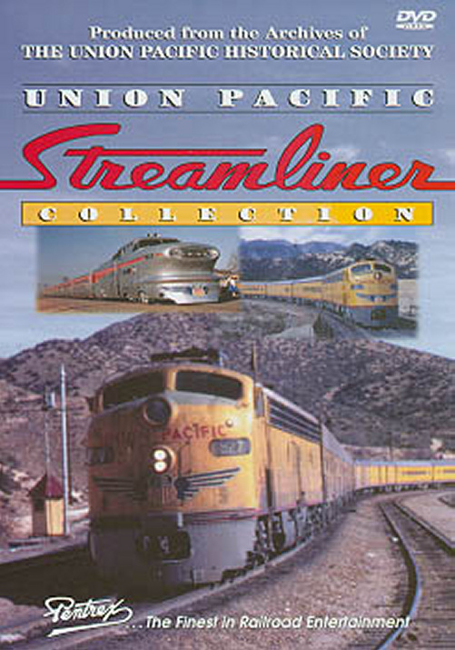Union Pacific Streamliner Collection DVD Train Video Pentrex PCSL-DVD 748268004148