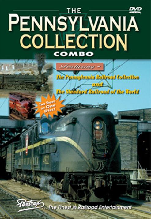 Pennsylvania Collection Combo DVD Train Video Pentrex PENNSY-DVD 748268005237