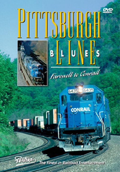 Pittsburgh Line Blues Farewell to Conrail DVD Train Video Pentrex PLCON-DVD 748268005473