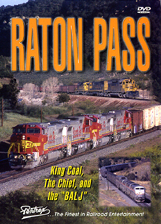Raton Pass DVD Train Video Pentrex RATON-DVD 748268004872
