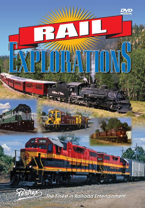 Rail Explorations DVD Train Video Pentrex REX-DVD 748268006326