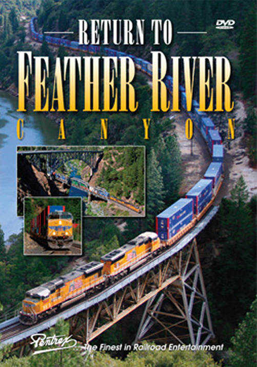 Return to Feather River Canyon DVD *LAST ONE - OUT OF PRINT* Train Video Pentrex RFRC-DVD 748268006159