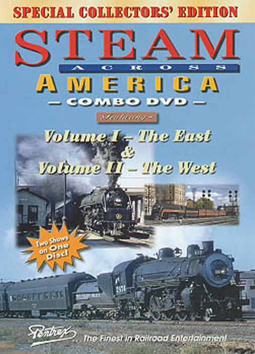 Steam Across America Combo DVD Pentrex SAA-DVD 748268004681