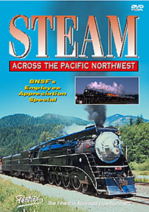 Steam Across the Pacific Northwest DVD Train Video Pentrex SAPN-DVD 748268003646
