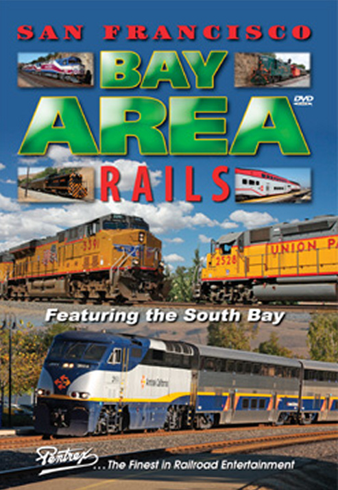San Francisco Bay Area Rails South Bay DVD Pentrex SBAR-DVD 748268005275