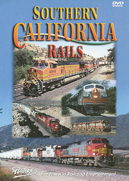Southern California Rails DVD Pentrex SCR-DVD 748268004209