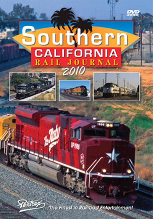 Southern California Rail Journal 2010 DVD Train Video Pentrex SCRJ10-DVD 748268006111