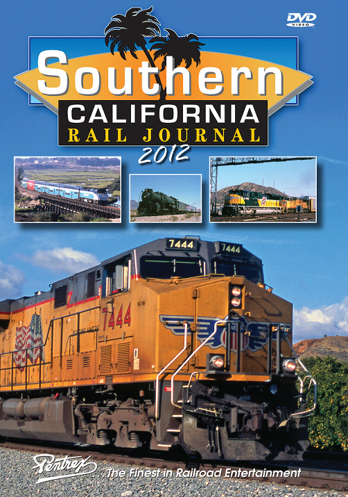 Southern California Rail Journal 2012 DVD Pentrex SCRJ12-DVD 748268006234