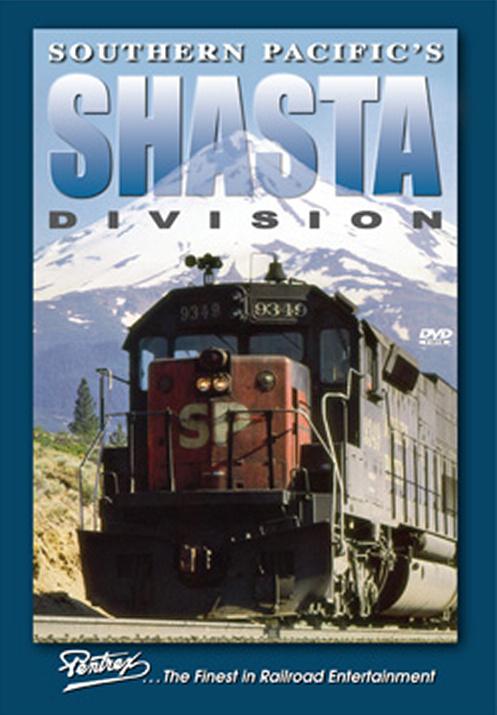 Southern Pacifics Shasta Division DVD Train Video Pentrex SHASTA-DVD 748268006050