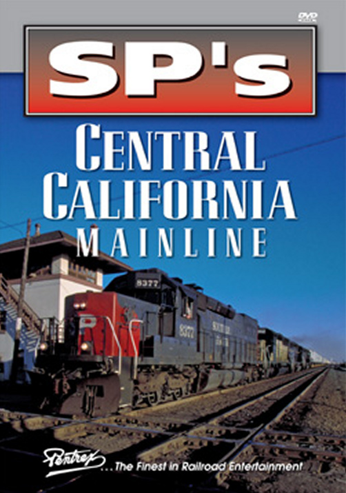 SPs Central California Mainline DVD Train Video Pentrex SPCCM-DVD 748268005497