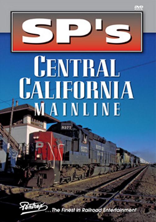 SPs Central California Mainline DVD Pentrex SPCCM-DVD 748268005497