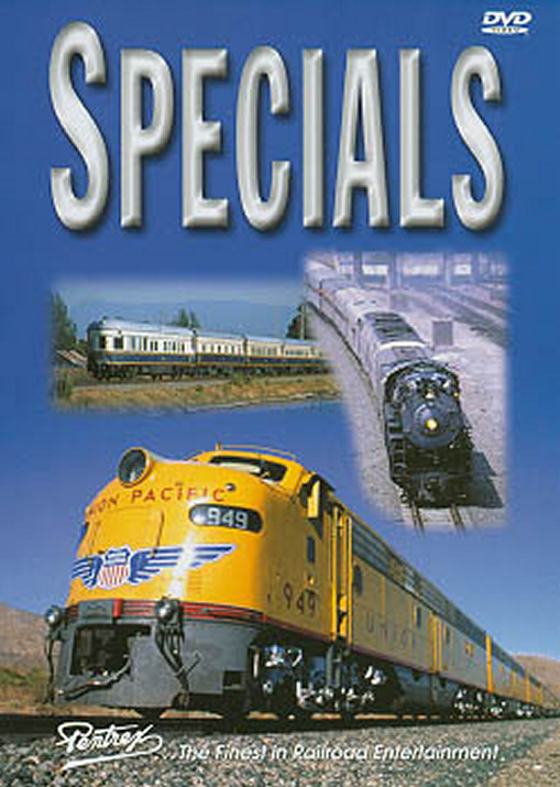 Specials DVD Train Video Pentrex SPECIAL-DVD 748268004124