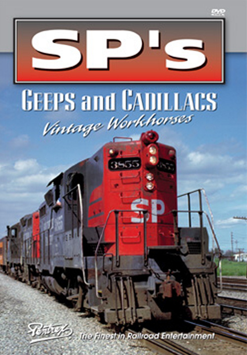 SPs Geeps and Cadillacs DVD Train Video Pentrex SPGEEP-DVD 748268005480